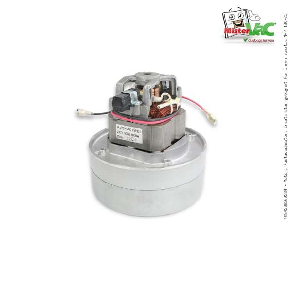 Motor, Austauschmotor, Ersatzmotor geeignet für Ihren Numatic NVP 180-21