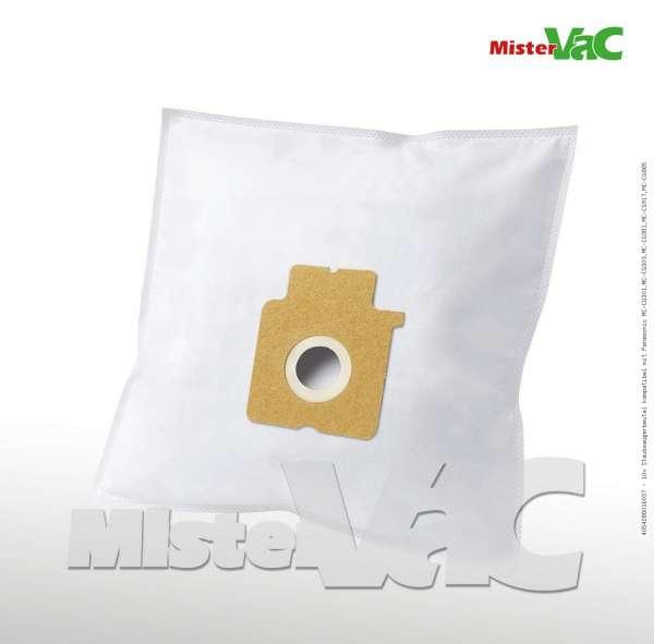 Staubsaugerbeutel kompatibel mit Panasonic MC-CG301,MC-CG303,MC-CG381,MC-CG917,MC-CG885 Bild: 1