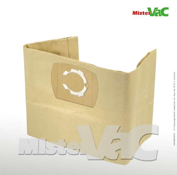Staubsaugerbeutel kompatibel mit Aqua Vac 25-30 L Container Bild: 1