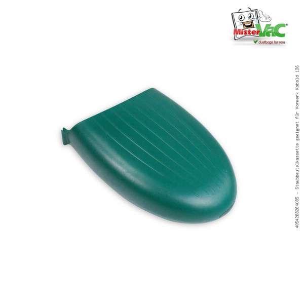 Staubbeutelkassette geeignet für Vorwerk Kobold 136