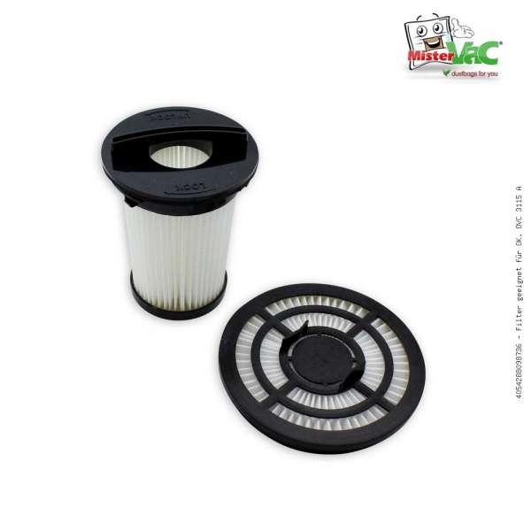 Filter geeignet für OK. OVC 3115 A