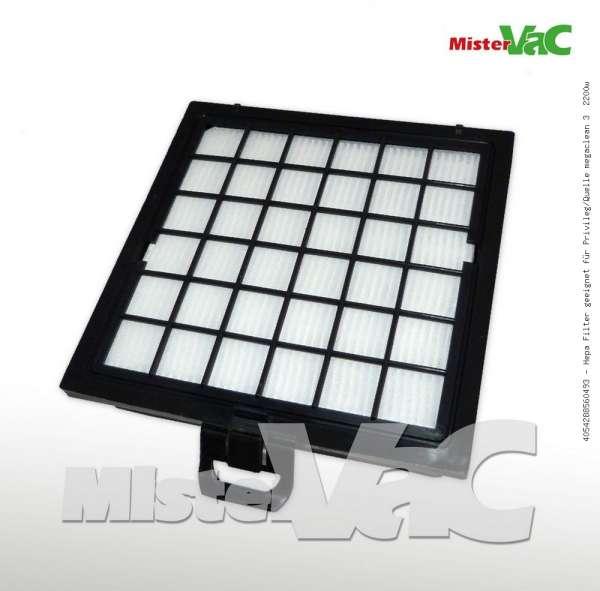 Hepa Filter geeignet für Privileg/Quelle megaclean 3 2200w