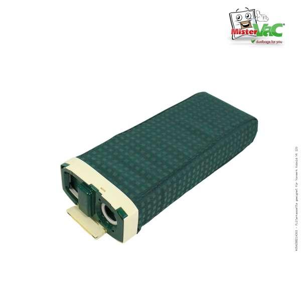 Filterkassette geeignet für Vorwerk Kobold VK 120