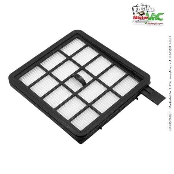 Staubbehälter Filter kompatibel mit BLAUPUNKT VCC311