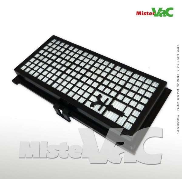 Filter geeignet für Miele S 346 i Soft Satin