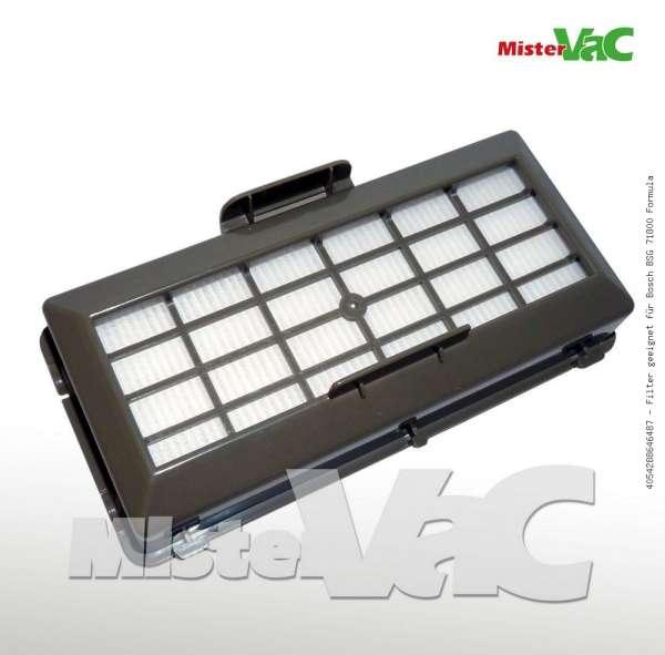 Filter geeignet für Bosch BSG 71800 Formula