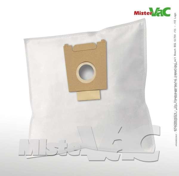 Staubsaugerbeutel kompatibel mit Bosch BSG 61700 /01 - /03 Logo Bild: 1