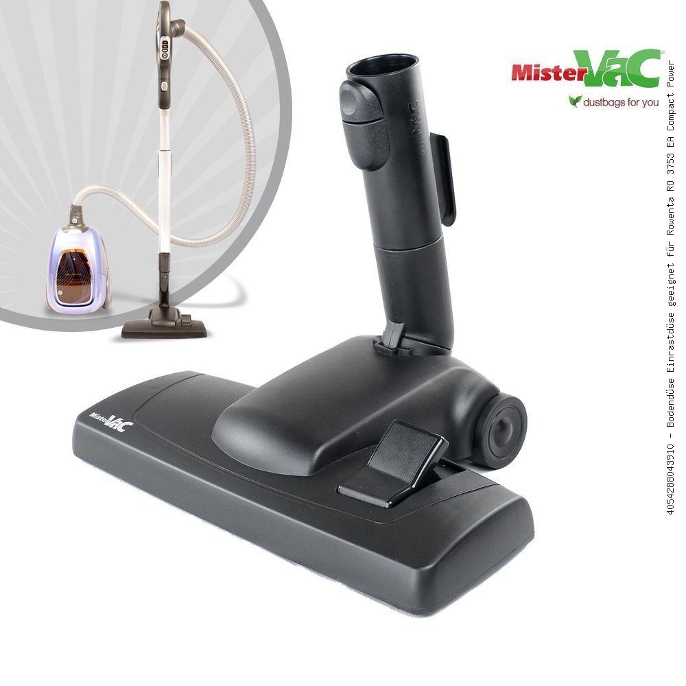 Floor Nozzle Einrastdüse Suitable For Rowenta Ro 3753 Ea Compact Power Cyclonic Mistervac