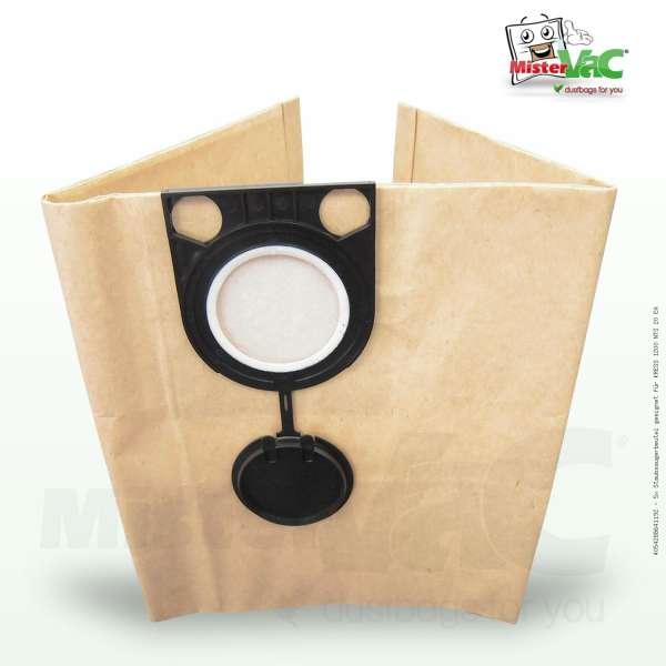 Staubsaugerbeutel geeignet für KRESS 1200 NTS 20 EA Bild: 1
