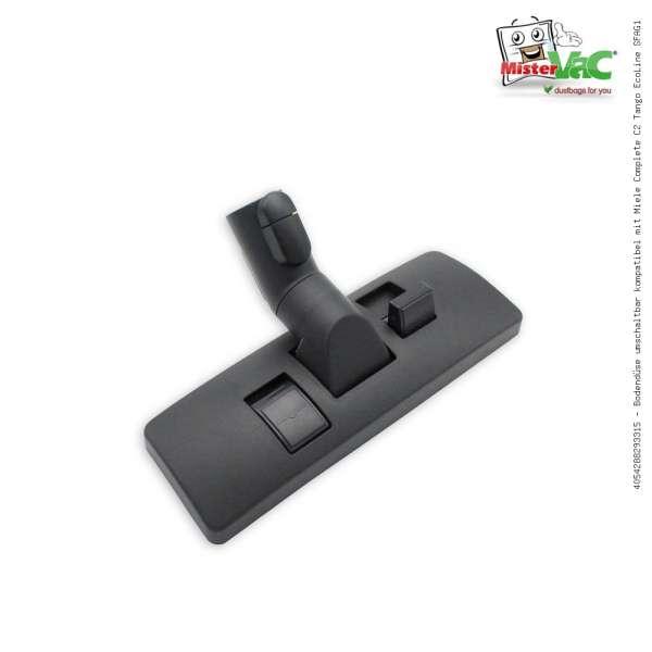 Bodendüse umschaltbar kompatibel mit Miele Complete C2 Tango EcoLine SFAG1
