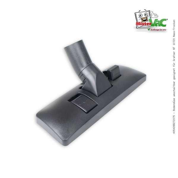 Bodendüse umschaltbar geeignet für Grafner NT 10720 Nass-Trocken