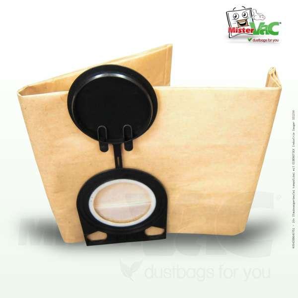 Staubsaugerbeutel kompatibel mit EIBENSTOCK Industrie Sauger SS1200 Bild: 1