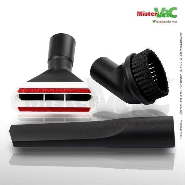 Düsenset geeignet für Bomann BS 9010 CB Bodenstaubsauger