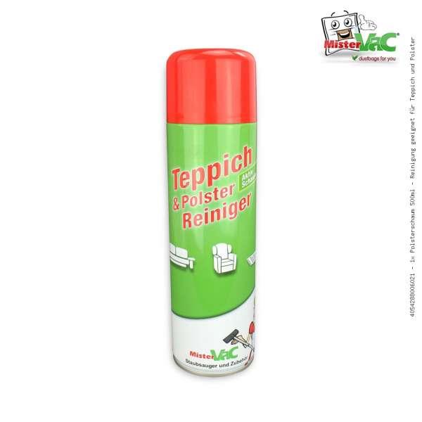 1x Polsterschaum 500ml - Reinigung geeignet für Teppich und Polster