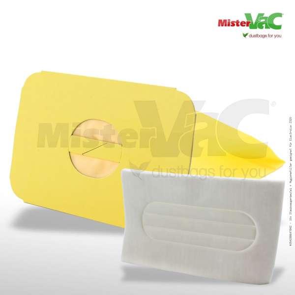 Staubsaugerbeutel + Hygienefilter geeignet für Electrolux Z320 Bild: 1