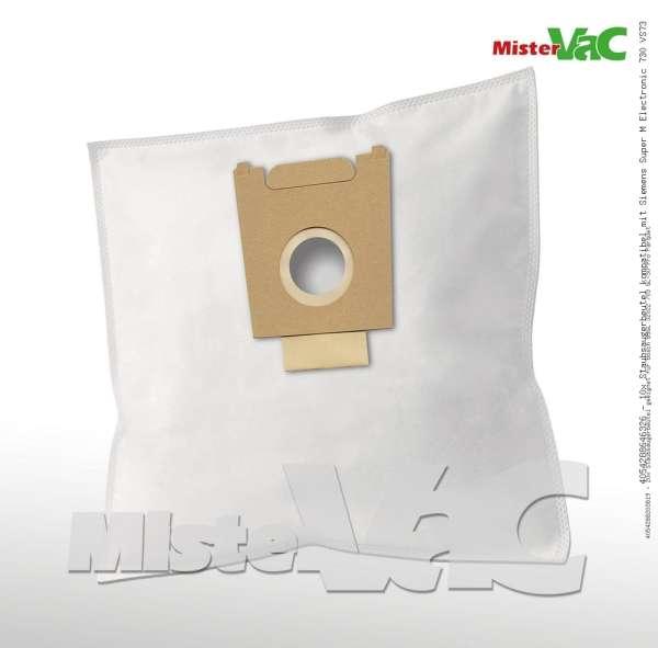 Staubsaugerbeutel kompatibel mit Siemens Super M Electronic 730 VS73 Bild: 1