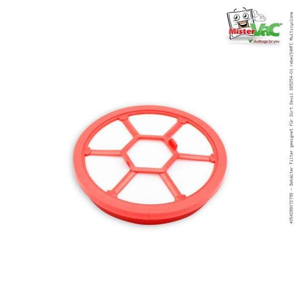 Behälter Filter geeignet für Dirt Devil DD5254-01 rebel54HFC Multicyclone