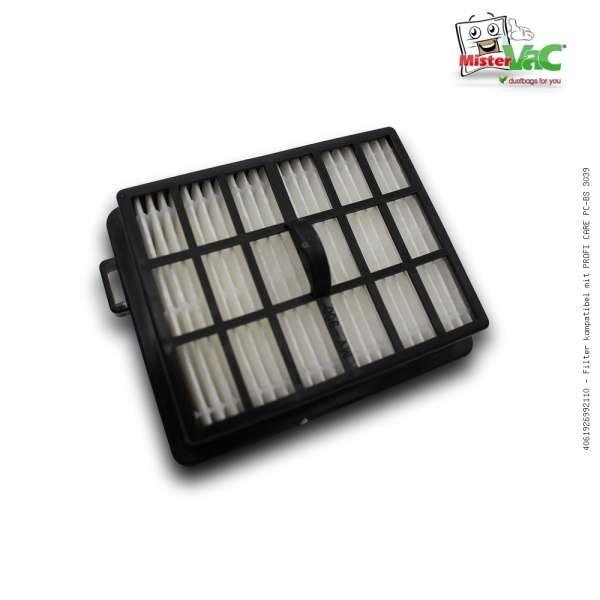 Filter kompatibel mit PROFI CARE PC-BS 3039