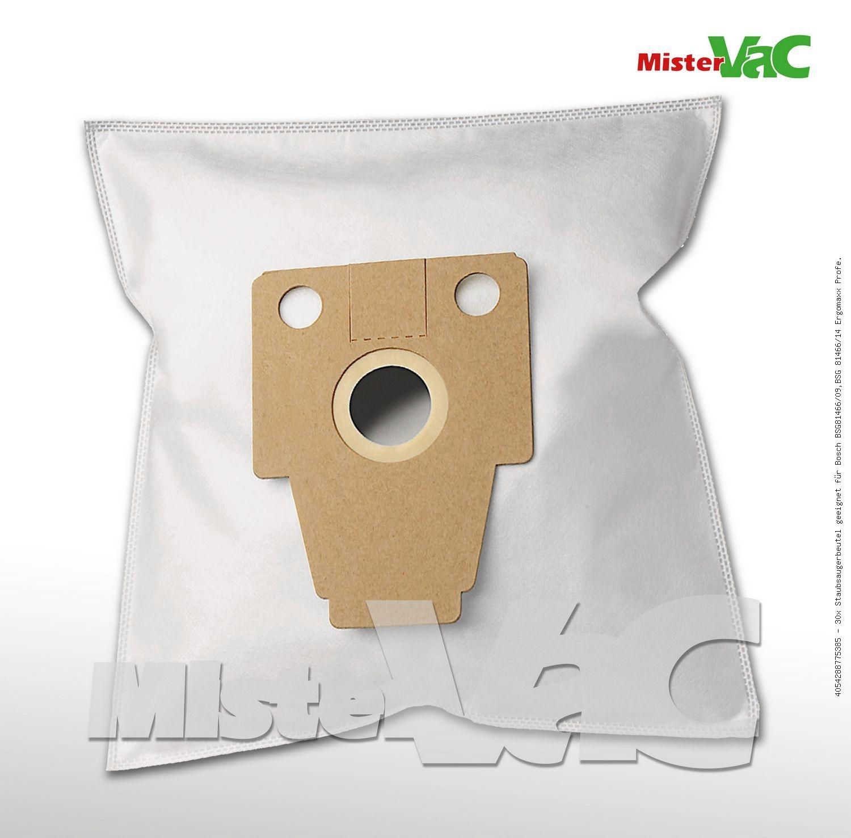 Made in Germany Beutel geeignet Bosch Bsg 81466 Ergomaxx Professional