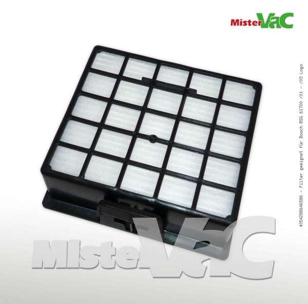 Filter geeignet für Bosch BSG 61700 /01 - /03 Logo