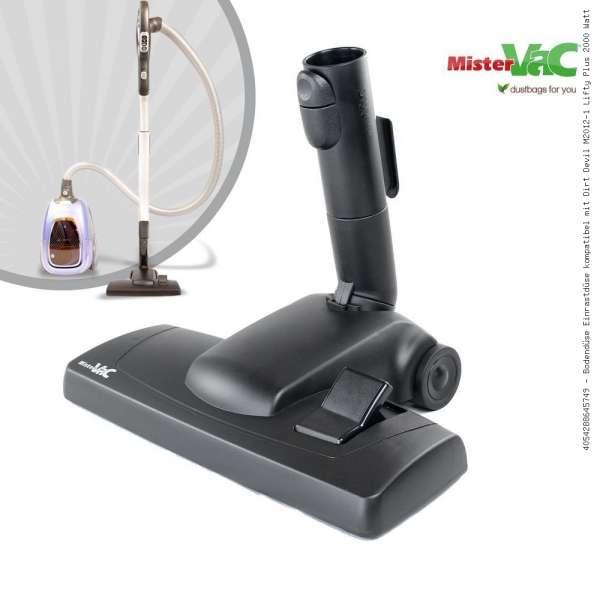 Bodendüse Einrastdüse kompatibel mit Dirt Devil M2012-1 Lifty Plus 2000 Watt