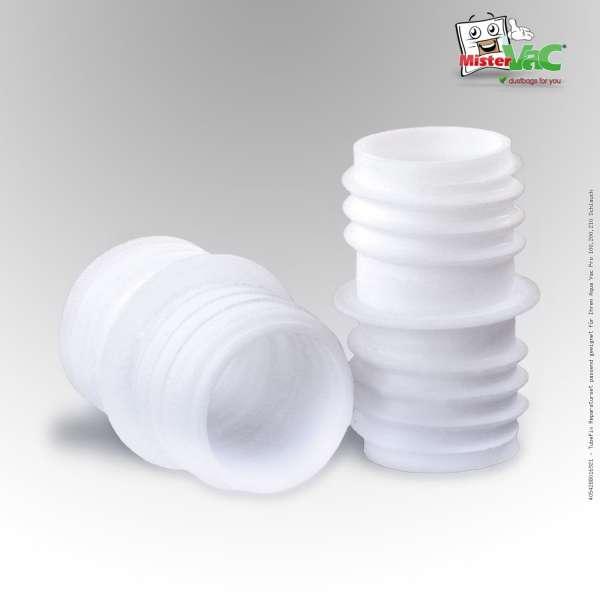 TubeFix Reparaturset passend geeignet für Ihren Aqua Vac Pro 100,200,210 Schlauch
