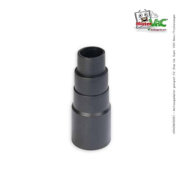 Werkzeugadapter geeignet für Shop Vac Super 1300 Nass-/Trockensauger