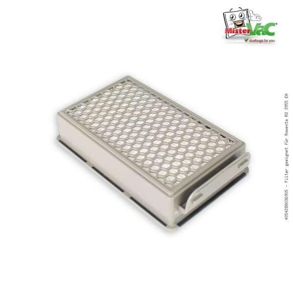 Filter geeignet für Rowenta RO 3955 EA