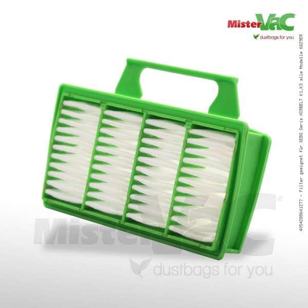 Filter geeignet für SEBO Serie AIRBELT K1,K3 alle Modelle 6629ER