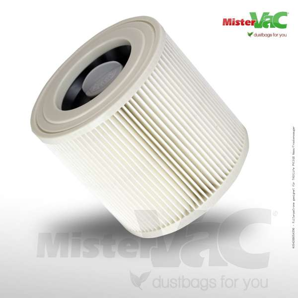 Filterpatrone geeignet für TACKlife PVC01B Nass/Trockensauger