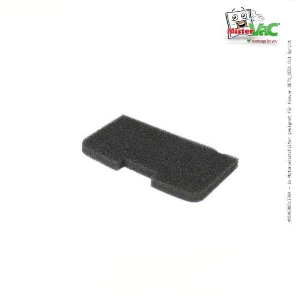 1x Motorschutzfilter geeignet für Hoover SE71_SE51 011 Sprint