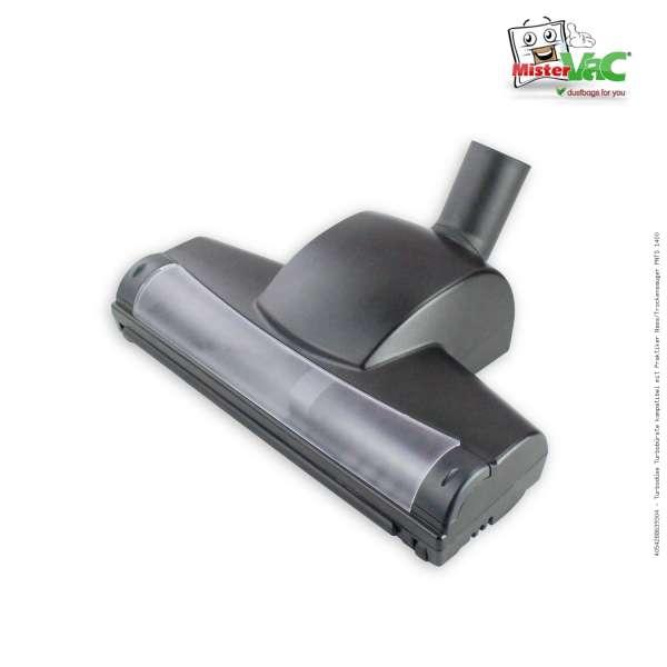 Turbodüse Turbobürste kompatibel mit Praktiker Nass/Trockensauger PNTS 1400