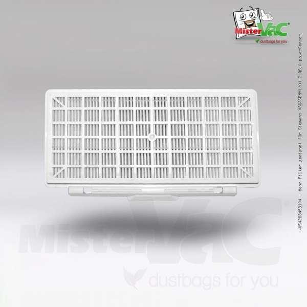 Hepa Filter geeignet für Siemens VSQ8SENM1/01-2 Q8.0 powerSensor