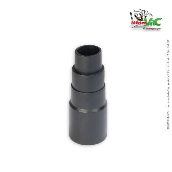 Werkzeugadapter geeignet für Nilfisk Attix 961-01