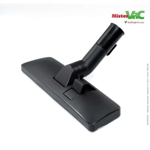 Bodendüse umschaltbar kompatibel mit Black & Decker BXVML700E