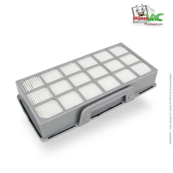 Filter geeignet für Rowenta RO 6355 EA EX SilenceForceCompact