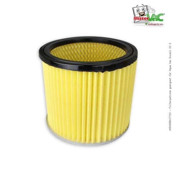 Filterpatrone geeignet für Aqua Vac Excell 20 S