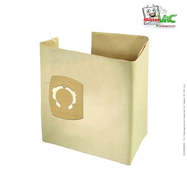 Staubsaugerbeutel kompatibel mit Asgatec NT 1400 Inox Bild: 1