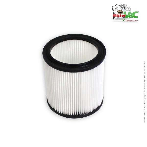 Filterpatrone geeignet für Parkside PNTS 1400 G3 Nass/Trocken